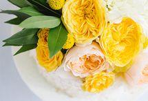 Yellow & Coral Wedding Inspiration