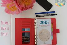 2015 Planners & Inserts Life is Crafted