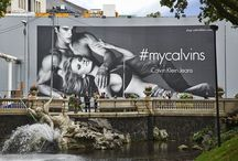 Fashion ♥ Giant Posters / Fashion brands using Giant Posters to advertise OOH with blowUP media.