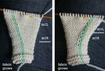 knitting tecniques!