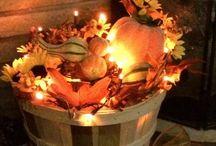 Diy fall outdoor decorations