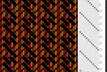 12 shaft weaving
