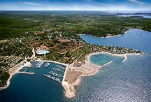 naturistický resort Valalta / naturistického resortu Valalta v Chorvatsku na Istrii.