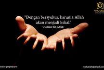 Mutiara Kata / Nasehat tidak selalu datang dari orang bijak, tidak selalu datang dari orang baik. Darimanapun datangnya, dengarkan dan renungilah.