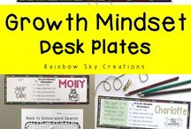 Growth Mindset in the primary classroom / Growth mindset resources and ideas for the primary classroom. Learn how to create a display and implement growth mindset attitudes in your classroom.