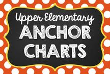 Anchor Charts for Grades 3, 4, 5 {Upper Elementary} / by ❈◡❈◠❈Pin Swap Shoppe❈◡❈◠❈