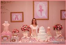 ballet candy table
