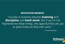 Motivation Monday / It's tough to be motivated on Mondays. We post some of our favorite motivational quotes every Monday for #MotivationMonday.