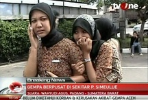 Earthquake in Indonesia