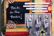 School scrapbook ideas / by Tracie Coffel-Neville