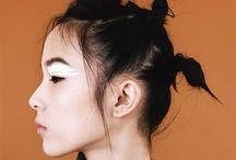 Beauty hair editorials