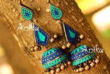 Terracota ear rings