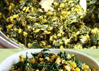 Crunchy moong dal keerai poriyal Recipe - Greens recipe