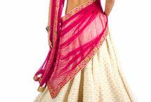 Half sari