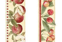 meyve desenleri