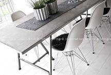 Köksbord betong