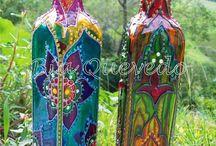 Arte em garrafa