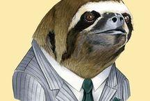 SLOTH ❤ / All things sloth.