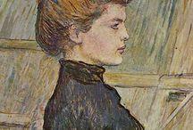 World famous artists of XIX-XX centuries.