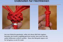 endknoten flechtleine