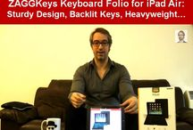 Best Keyboards for iPad Air / I curate the top photos from the online reviews of the best keyboards for iPad Air, including my own reviews at http://vbank.in/ipadAIR: ZAGGKeys Folio Backlit Keyboard, BELKIN Ultimate Keyboard Case, LOGITECH Ultrathin Keyboard Cover.