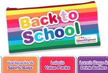 Back to School / Get the kids ready and organised for school with Identity Direct and personalised school supplies