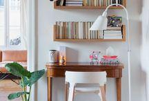 Inspirações Home Office / Aqui varias ideias para seu Home Office, cantinho de gravação e muito mais