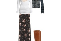 Fall/winter outfit ideas  / by April Maxey