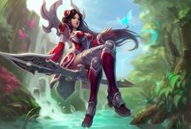 LEAGUE OF LEGENDS - IRELIA