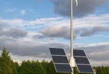 zonnen panelen en windenergie