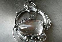 cínované a smaltované šperky / návody na výrobu