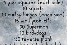 Silent apartment, dorm or hotel room workout