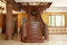 Rusztikus lépcsők