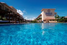 IWTTT - Sandos Playacar Beach Resort & Spa All Inclusive / I promote for Sandos Resorts Vacation Club which offers a 5 night all inclusive stay for attending their timeshare promotion!  http://IWantToTravelTo.com