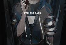 Personajul Eyeless Jack