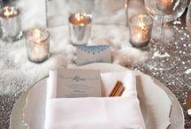 Champagne & Christmas - Noël / Inspirations champagne pour Noël : menus de fête, table, décoration...