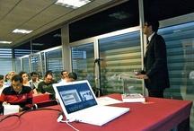 Cursos impartidos / Mis cursos de marketing online. Fotos de las clases