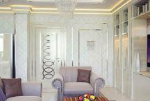 Apartment-style Glamor / Glamour – both joyful and gentle mood style