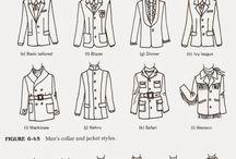 pánske strihy, šaty, ...
