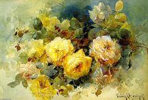 FLOWERS - FRANZ BISCHOFF