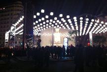 Fête des lumières à Lyon / Week-end de décembre, quelques heures de train, un métro et deux stations plus tard, me voilà à Lyon.