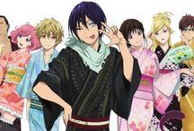 Noragami / Obrazki, które mi się podobają z anime i mangi Noragami.
