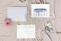 Wedding stationery / Ideas of wedding invitations, decor and colors