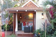 Backyard hideouts / by Angela Mitchell
