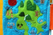 Quiet book Peter Pan * Spielbuch Peter Pan / Quiet book Peter Pan Spielbuch