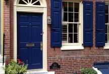 Blue Doors / Front door dreamin'