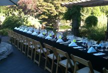 Garden Wine Dinners / Catering St. Louis hosts monthly wine dinners at the Missouri Botanical Garden on the third Thursday of each month.  Themed dinners with wines paired with each course are a great way to entertain!  Reservations are required.