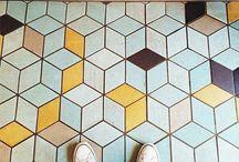 Funky tiles