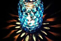 Gas mit Glassteinen