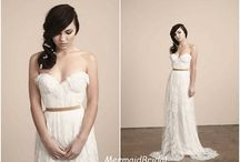 Your own #wedding #dress / Not #diy, but your own wedding dress to look wonderful in your day!